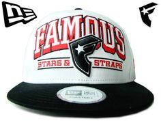 【ニューエラ】【NEW ERA】9FIFTY USカスタム FAMOUS STARS & STRAPSコラボ! ホワイト  スナップバック【CAP】【newera】【帽子】【フェイマス】【スケボー】【FMS】【snapback】【黒】【black】【アジャスター】【パチパチ】【あす楽】【楽天市場】