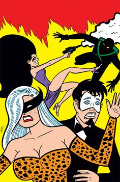 Cover art from Citizen Rex, a comic by Mario and Gilbert Hernandez