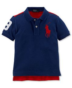 Ralph Lauren Kids Shirt, Boys Coming and Going Short-Sleeve Polo