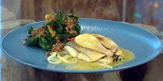 theo randall recipes Archives – Saturday Kitchen Recipes Porcini Mushrooms, Stuffed Mushrooms, Theo Randall Recipes, Saturday Kitchen Recipes, Italian Fish Stew, Baked Sea Bass, Walnut Sauce, Lamb Chops, Prosciutto