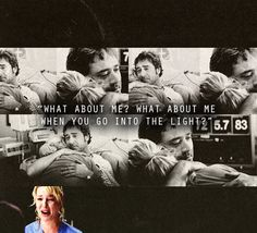 Saddest thing EVER. I do cry a little over sad tv/movies. NO show has ever made me cry as often as Grey's and the Denny/Izzie story had me sobbing hysterically : Izzie Greys Anatomy, Grey Anatomy Quotes, Izzie And Denny, Izzie Stevens, Dark And Twisty, Medical Drama, Youre My Person, Movie Couples, Tv Show Quotes