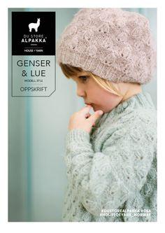 Du Store Alpakka - gratis oppskrift på genser og lue