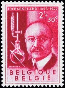 Leo Baekeland  auf belgischer Briefmarke von 1955