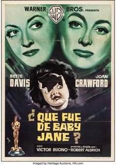 What Ever Happened to Baby Jane? (Warner Brothers, 1962). Spanish