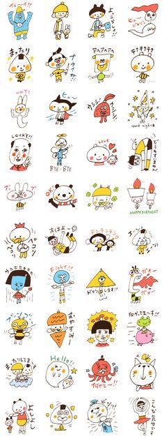 Satoshi's happy characters vol.05
