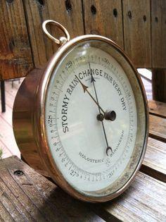 Antique Barometer, Hulot,Pertius,Naudet | eBay