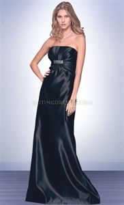 Dazzling Sequins Black Satin Long Bridesmaids Dresses. suit dresses,dress suit,suiting dresses,suiting dress