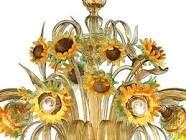 sunflower chandelier - Google Search