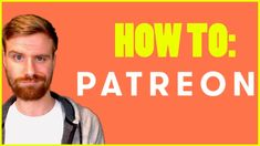 How to Setup A Successful Patreon - A Patreon Tutorial Business Ideas, Business Women, How To Make Money, How To Become, Gary Clark, Electronic Media, The More You Know, Buisness, Money Matters