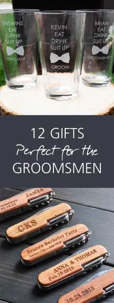 Some great ideas for the men in your wedding! - www.weddingbandsforboth.com | Gifts for Groomsmen, GIft Ideas for Him, Cool Gifts for Groomsmen, Groomsmen Gift Ideas, Wedding Gifts, Wedding gift Ideas, Wedding Gift Hacks, Popular