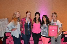 @BeBrightPink Founder Lindsay Avner is an inspiration for young women everywhere. Learn more about our partnership! #PinkOutLoud