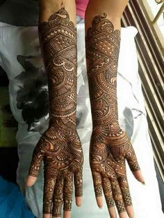Brown Mehndi Designs are given on this page. These designs are beautiful and easy to make.These designs are also very attractive and amazing. Wedding Henna Designs, Engagement Mehndi Designs, Latest Bridal Mehndi Designs, Full Hand Mehndi Designs, Mehndi Designs 2018, Mehndi Designs For Girls, Mehndi Designs Feet, Beginner Henna Designs, Tattoo Designs