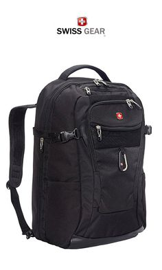 Are you after a new SWISSGEAR backpack? With a huge selection of the best SWISSGEAR backpacks, you'll be sure to find what you're looking for here! Best Travel Bags, Best Travel Backpack, New Travel, Laptop Backpack, Black Backpack, Travel Style, Travel Fashion, Fashion Backpack, Travel Items
