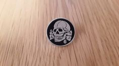 Death In June - Totenkopf 6 badge