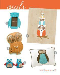 Owls nursery theme ideas
