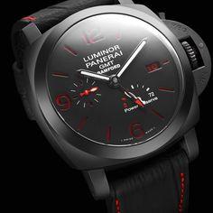 Bamford Watch Department – Customised Luxury Watches – Black Rolex MGTC – Panerai Radiomir