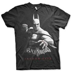 CAMISETA BATMAN ARKHAM CITY XXL