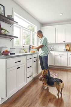 Wolf Classic offers three distinct series to make finding the right cabinetry for every project easy. #Kitchen #Cabinets