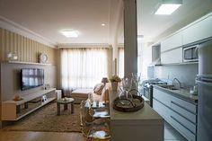 Apartamento Decorado - Sala e Cozinha