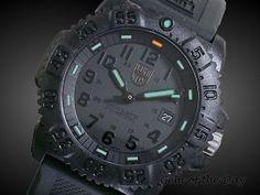 Luminox Evo Navy Seal Blackout  Watch 3051
