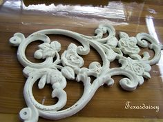 Step by step instructions on how to clone these in order to make appliques for furniture.