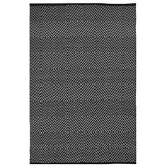 Indo Hand-woven Zen Black/ White Contemporary Geometric Area Rug (3' x 5') | Overstock™ Shopping - Great Deals on 3x5 - 4x6 Rugs