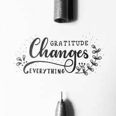 Gratitude Changes Everything! Day 8 of #letteringwithpositivity . . . #calligraphy #lettering #handlettering #handletteringnewbie #modernlettering #moderncalligraphy #dailylettering #letteringchallenge #dailychallenge #brushpen #goodtype #typespire #typegang #typography #typographyinspired #brushtype #type #handdrawn #handdrawntype #brushlettering #ink #handmade #handwritten