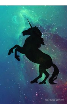 Galactic Unicorn (Black)