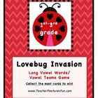 *Please take a look at my other Lovebug Games, too!  I appreciate your taking time to look at my product!     A great center game for practicing Lo...
