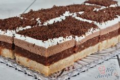 Czech Recipes, Ethnic Recipes, Cupcakes, Sweet Cakes, Graham Crackers, Apple Pie, Tiramisu, Cheesecake, Food And Drink