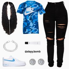 Comment below what you would rate this outfit O - Dark Shirt - Ideas of Dark Shirt - Comment below what you would rate this outfit Orange T-Shirt Dark Wash Ripped Jeans Orange Fila Disruptors 2 Swag Outfits For Girls, Cute Swag Outfits, Teenage Girl Outfits, Cute Comfy Outfits, Cute Outfits For School, Teen Fashion Outfits, Dope Outfits, Fashion Clothes, Clothes Swag