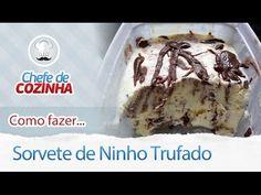 Como fazer: Sorvete Magnum Caseiro - YouTube