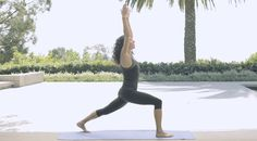 The Yoga Studio with Mandy Ingber: Lower-body Conditioning | NET-A-PORTE...