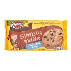 Pack) Keebler Simply Made Chocolate Chip Cookies, 10 oz Homemade Chocolate, Hot Chocolate, Milk Chocolate Chip Cookies, Chocolate Chips, Cookie Recipes, Snack Recipes, Italian Hot, Milk And Eggs, How To Make Cookies