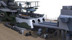 ArtStation - HMS RODNEY, Carlo Cestra Model Warships, Image Archive, Navy Ships, Royal Navy, Battleship, Scale Models, Mountain Biking, Wwii, Boats