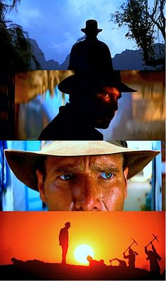 Adventure has many guises, but always the same face: Indiana Jones