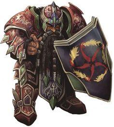 Dwarf warrior: photo Ironforge.jpg