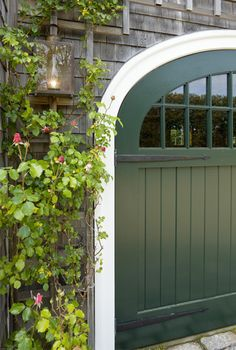 Trellis | Embellishment, around beautiful  carriage style garage doors
