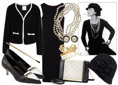 10 DIY Fashion Icon Costumes- Coco Chanel | StyleOnHigh