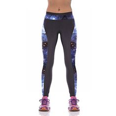 ABCHIC Girls' Spring Summer Yoga Sport Pants Workout Capris Leggings US Size 6-10 (Not For Young Girls)