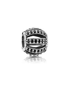 Pandora Silver Leading Lady Black Crystal Charm Available at: www.always-forever.com
