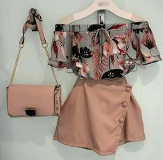 Outfits for spring Blusa Bluse Girls Fashion Clothes, Teen Fashion Outfits, Mode Outfits, Girly Outfits, Cute Casual Outfits, Cute Fashion, Outfits For Teens, Pretty Outfits, Stylish Outfits