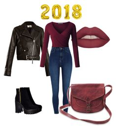 """Cuestión de tallas"" by ines-pereira-alonso on Polyvore featuring moda, The Row, LE3NO y River Island"