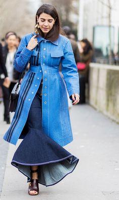 Fashion People Won't Stop Wearing This Surprising Jean Trend via @WhoWhatWearUK