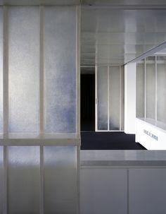 Fibreglass Partitions. DRDH Architects