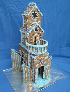 frozen gingerbread house