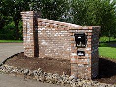 Brick Entry Gate More