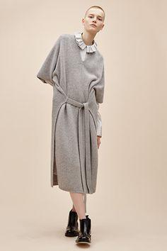 cashmere luxe felicie dress, silk stripe shirting evert dress, brogue boot