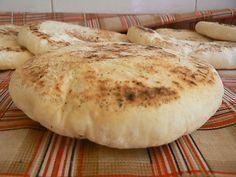 Bazlama, pain turc cuit à la poêle