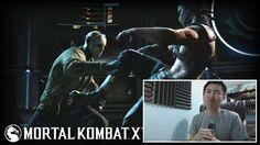 Mortal Kombat X - Official Jason Gameplay Trailer! [unCAGEDgamez Reaction]